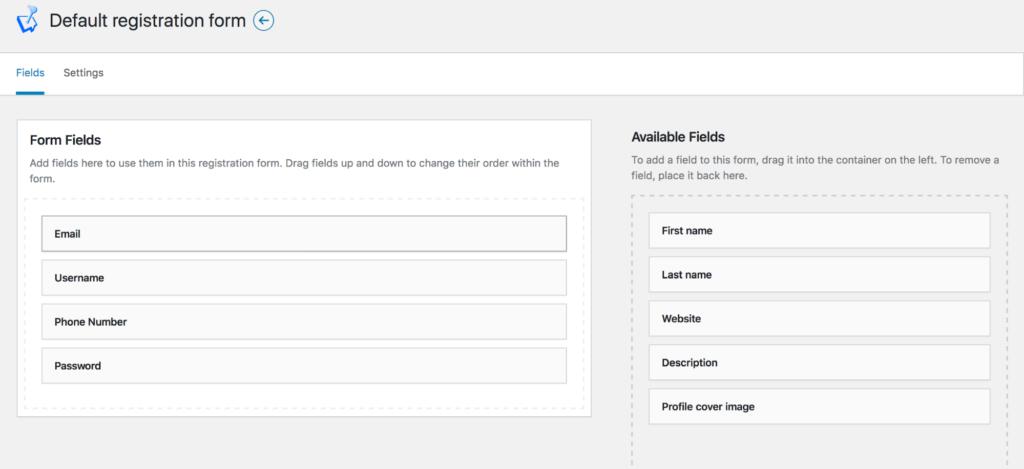 Adding fields to WordPress registration form