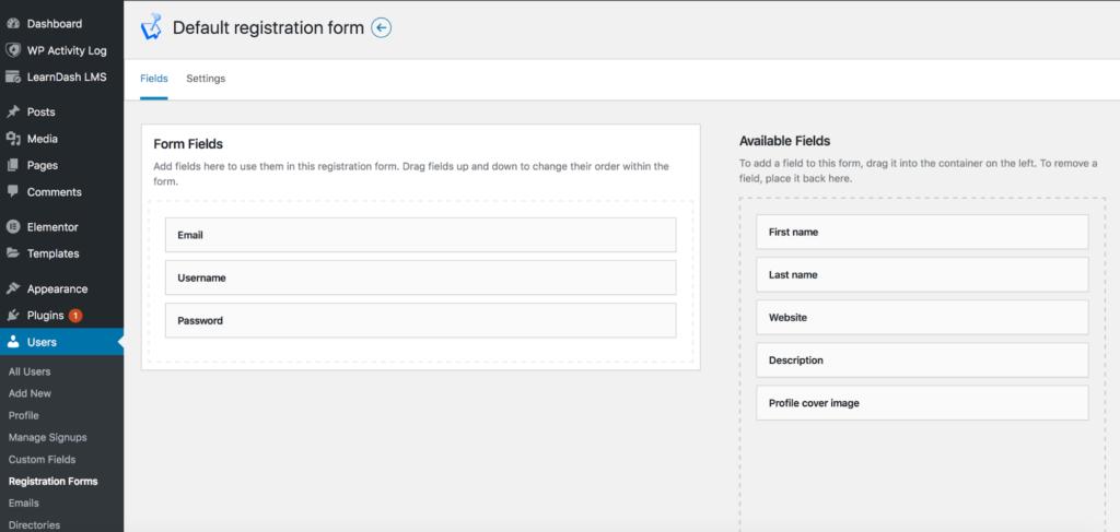 Adding custom fields to the WordPress registration form