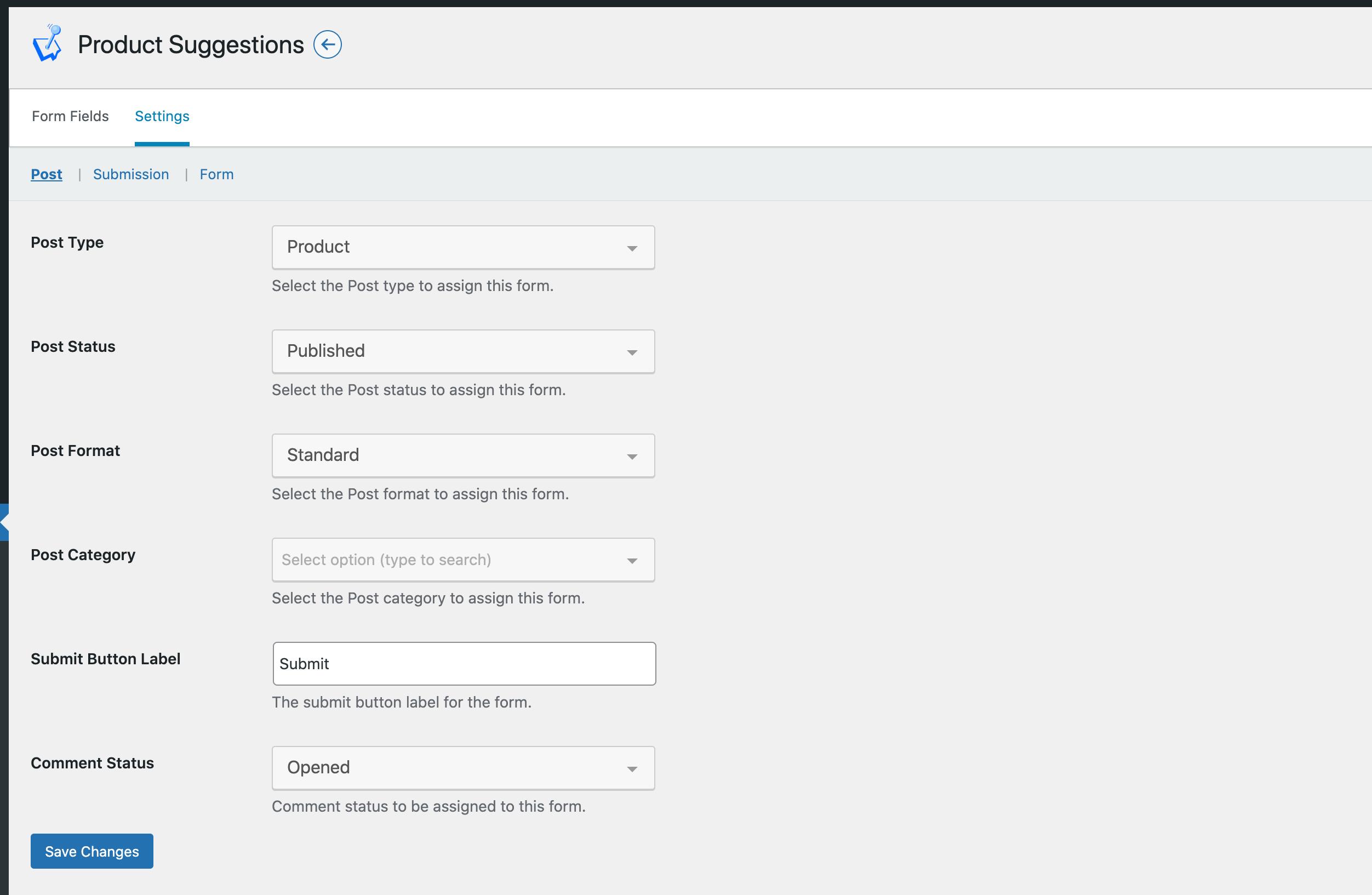 Create Different Content screenshot
